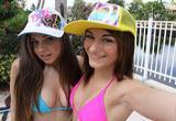 Lesbianas putas del hotel follando